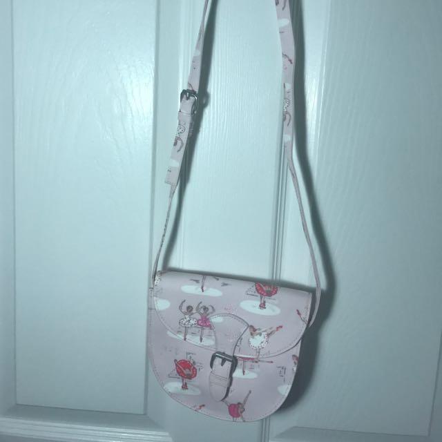Cath Kidston ballet pink girl's shoulder bag