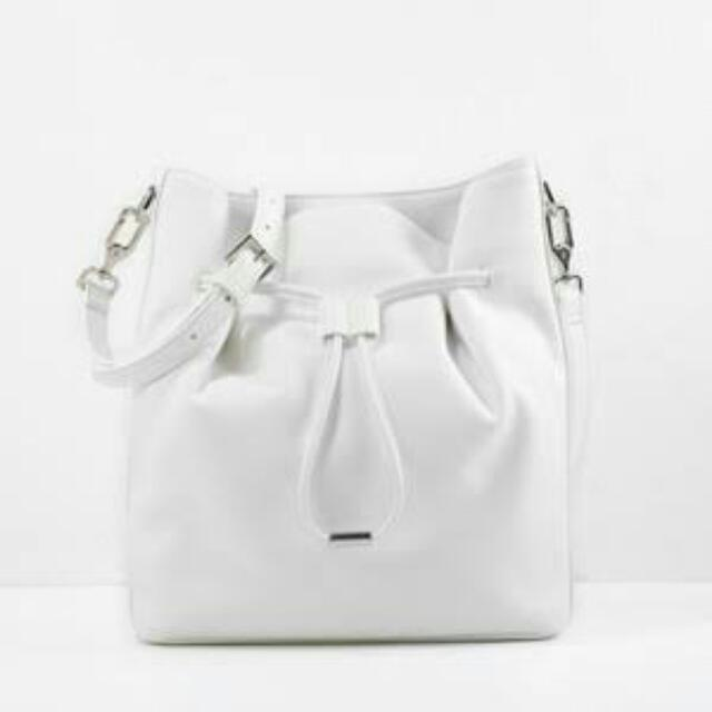 Charles and Keith Drawstring Bucket