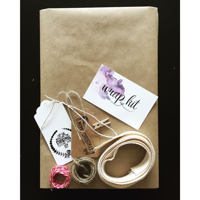 Christmas Gift Wrapping Kit