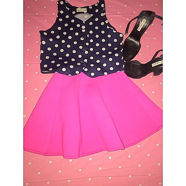 Crop Top Skirt