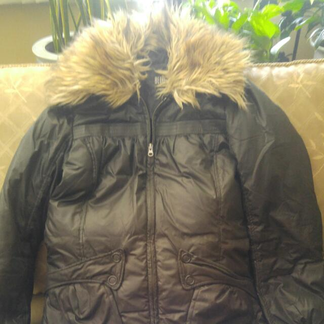 Down Coat - Bedo  Detachable Hood $40