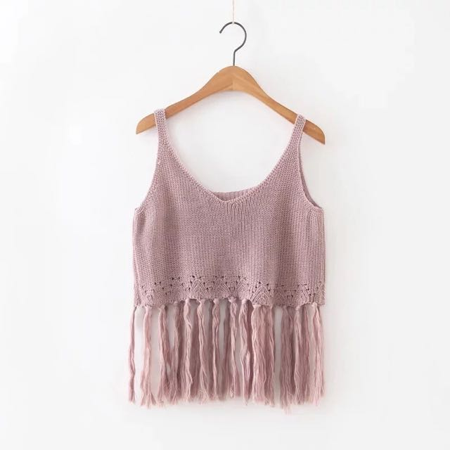 Dusty Pink Summer Top