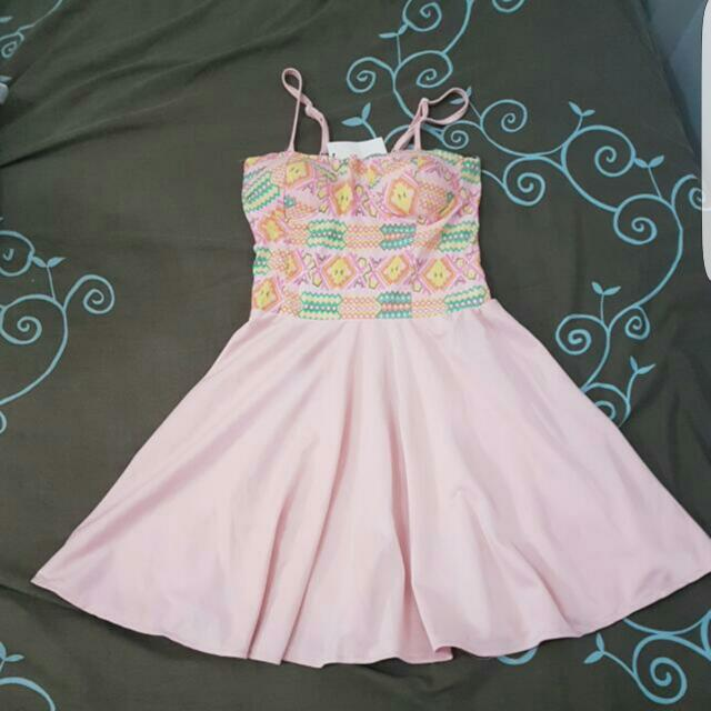 ELLA AZTEC BUSTER DRESS