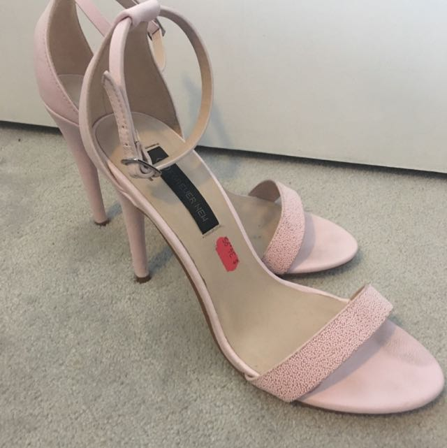 Forever New Baby Pink Heels Size 9