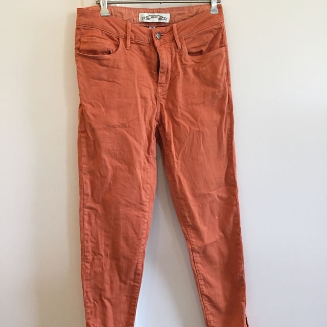 Gorman Burnt Orange Skinny Leg Jeans