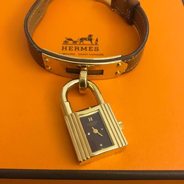 Hermes Kelly 保證真品 錶 專櫃正品