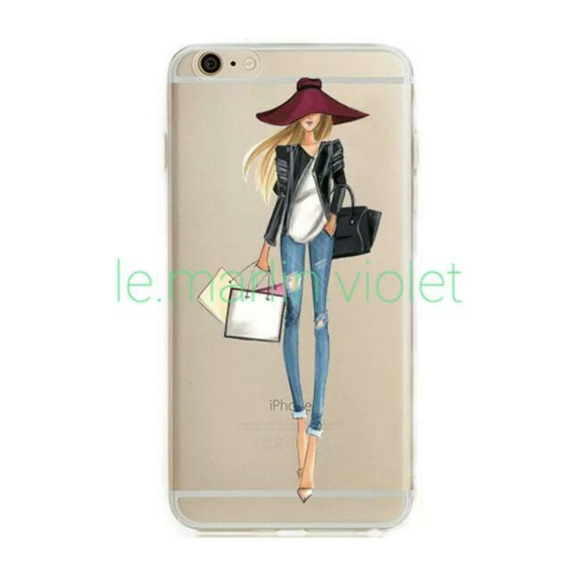In Stock Cool Shopaholic Iphone Hp Cover Hp Casing Mobile Phones Tablets On Carousell
