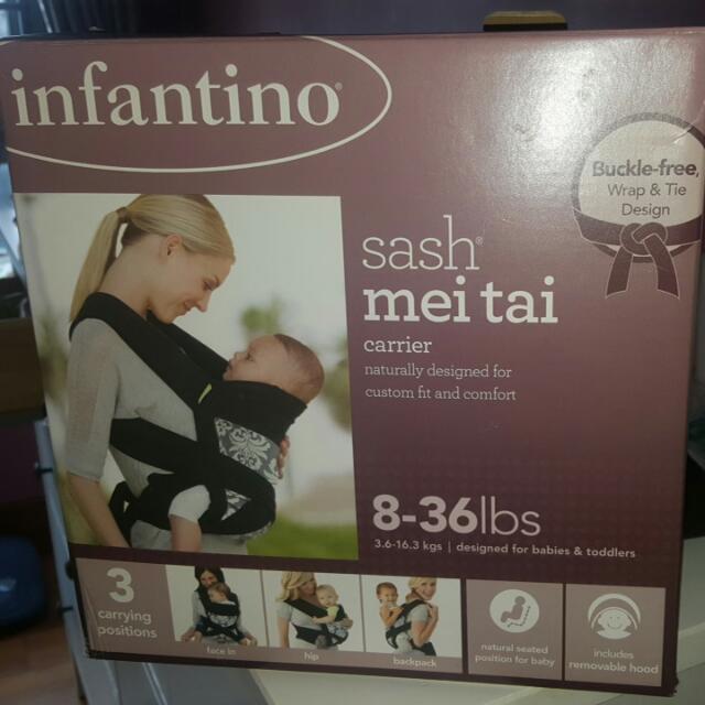 Infantino Sash Mei Tai Carrier