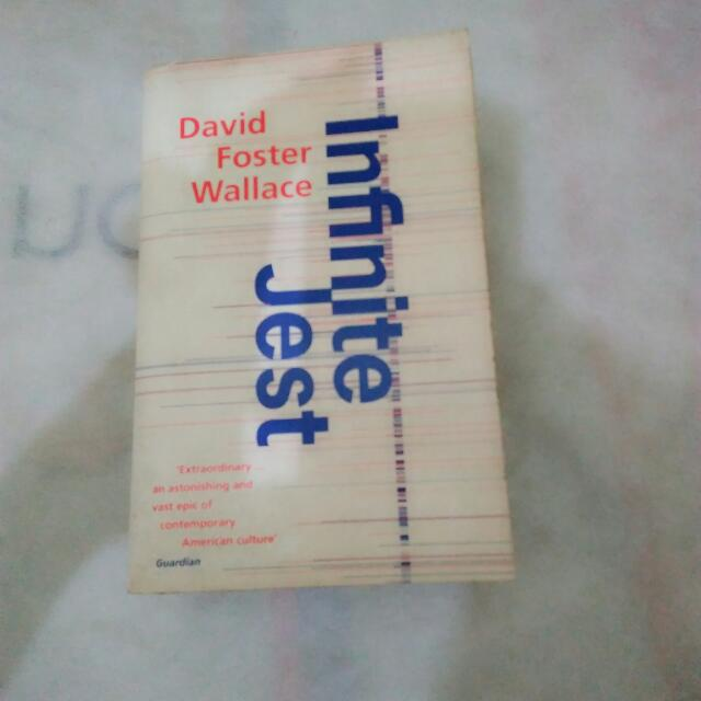 Infinite Jest (David Foster Wallace, Abacus)