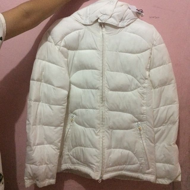 Jaket Winter Warna Putih