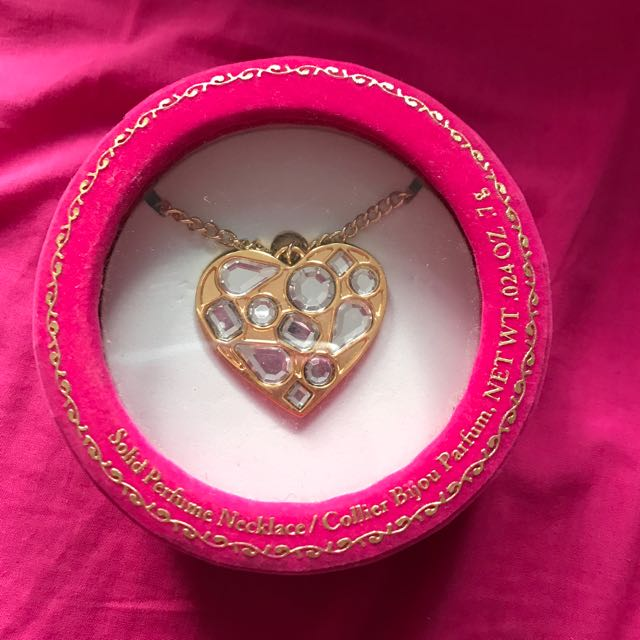 Juicy Couture Perfume Necklace