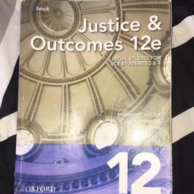 Justice & Outcomes 12e