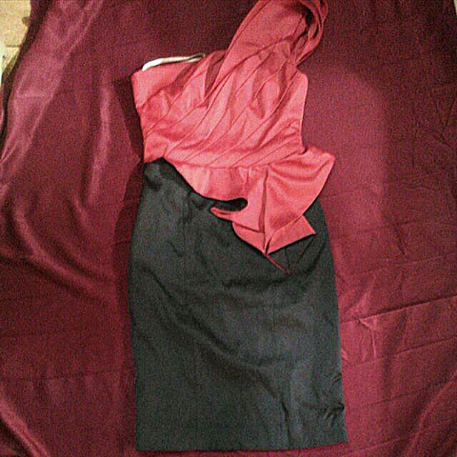 Karen Millen One Shoulder Dress
