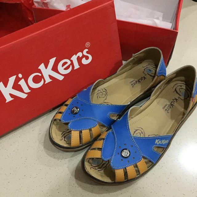 Kickers Blue Sandal