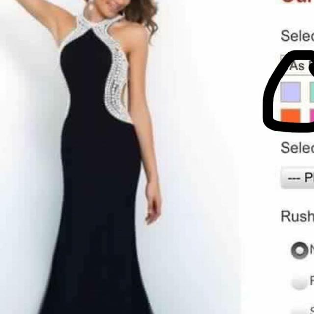 Leavers/formal Dress