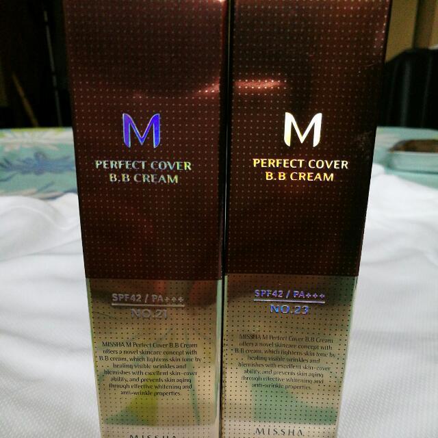 M Perfect Cover B.B. Cream Spf42
