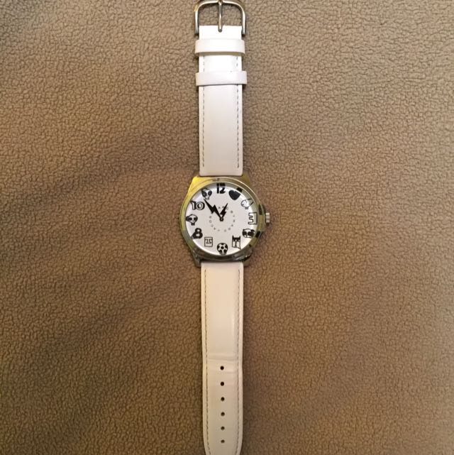 Marc Jacobs Watch (White)