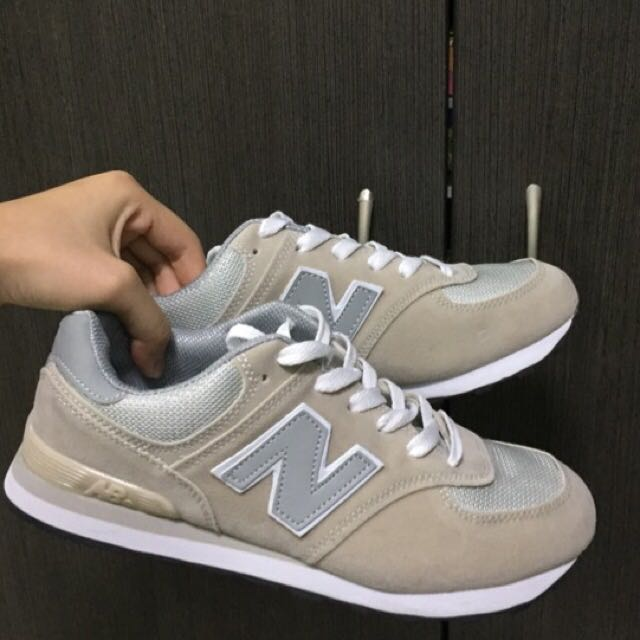 new balance inspired Beige shoe