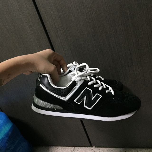 new balance inspired black shoes