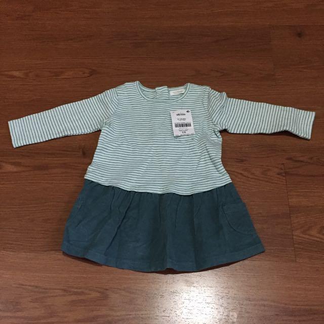 Next Baby Green Dress