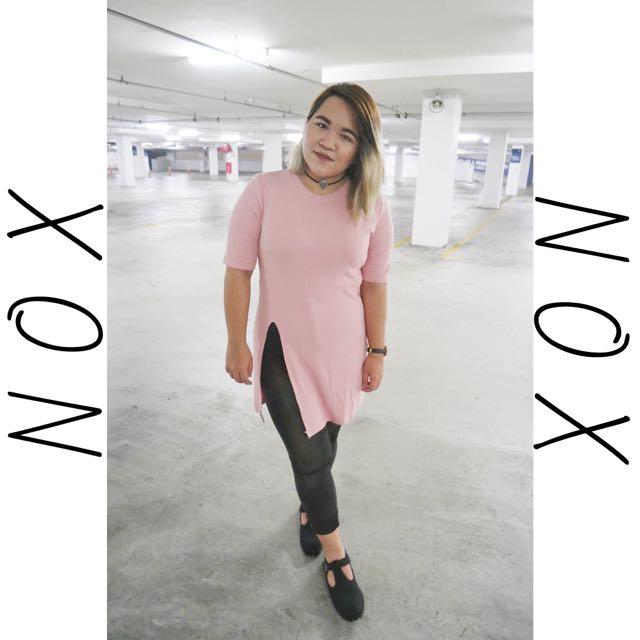 NOX Delilah Side Split Top