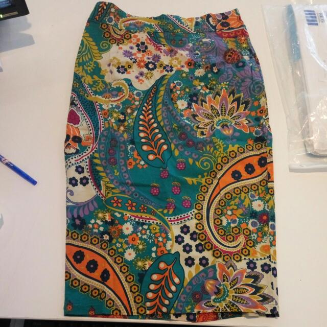 Pencil Skirt Batik