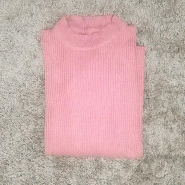 pink dusty sweater
