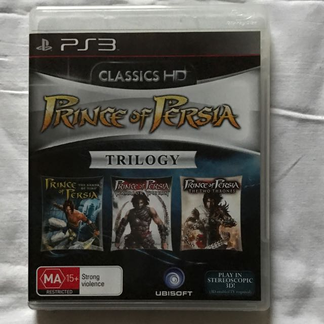 Prince Of Persia Trilogy PS3