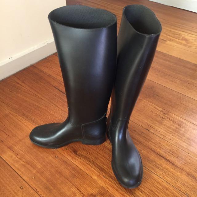 Rain Boots/ Horse Riding Boots