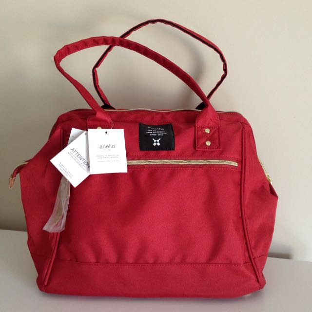Red Anello Handbag