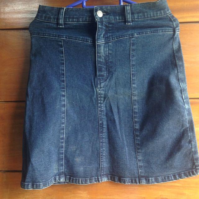 Rok Jeans Anak-Remaja
