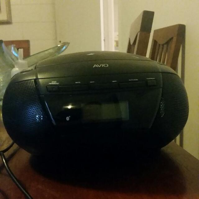 Small Bluetooth Radio Used