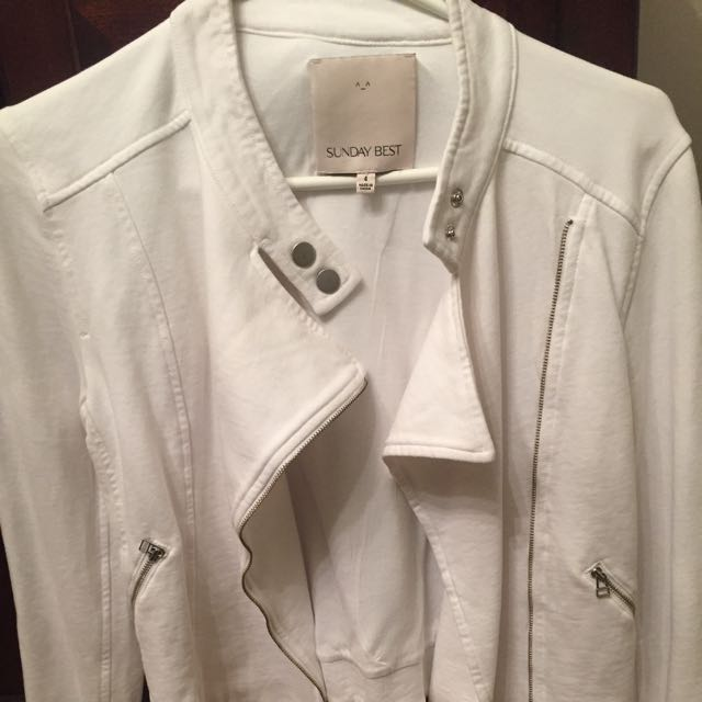 Soft White Blazer/ Jacket