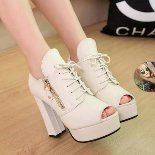 0262477c94f Spring and Autumn summer sandals new shoes with high heels thick ...