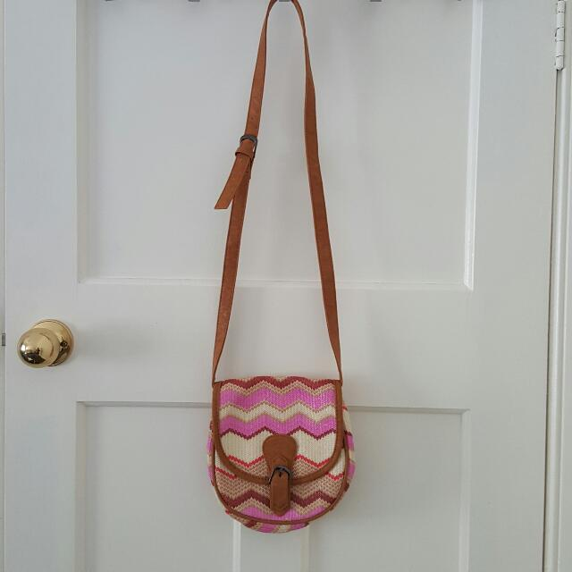 Super Cute Pink Crossbody Bag