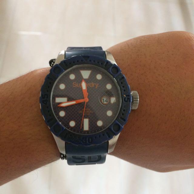 Superdry Scuba Deepsea Watch