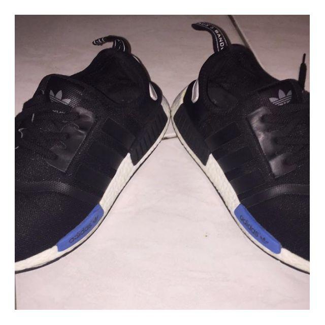 US 10 - Adidas NMD - Black/Blue/White