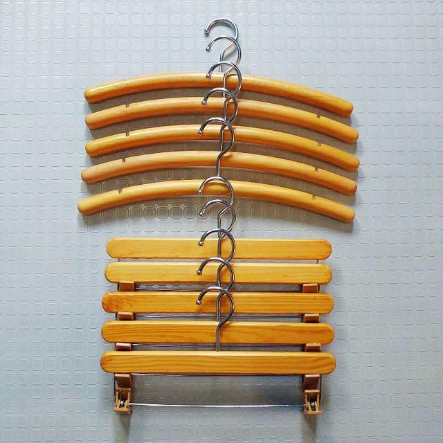 Wooden Series 3 Hangers