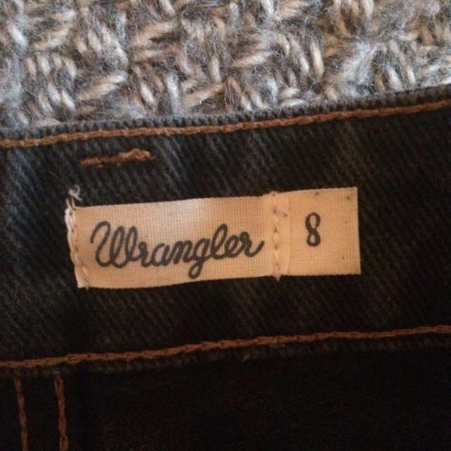 Wrangler Denim Shorts High Waisted