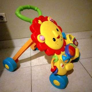 Fisher Price Music Lion Walker