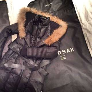 REDUCED!! Rudsak BLACK Sophie winter coat | SMALL size | 9.5/10 condition.