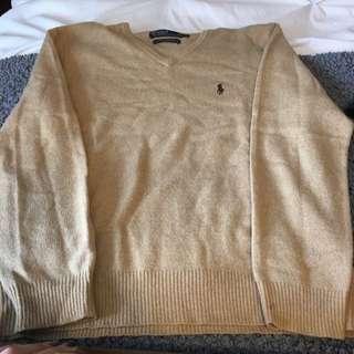 Polo 100% Lambs Wool Sweater