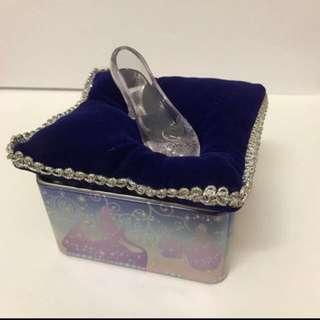 迪士尼 灰姑娘 仙度瑞拉 玻璃鞋