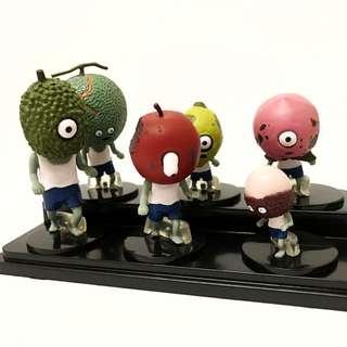 水果殭屍人形擺飾 第二代 (含盒)