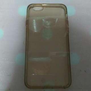 Iphone 6/6s Yellow Transparent Casing