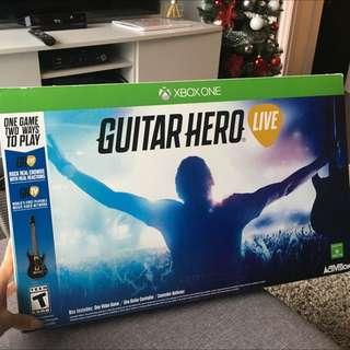 Guitar hero Live Game (game + Guitar Controller + Batteries)