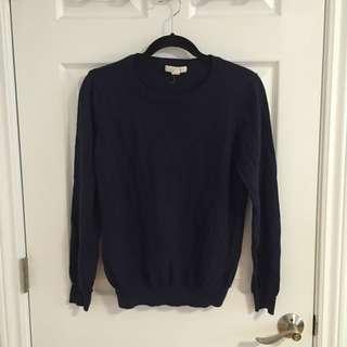 Navy Blue Sweater Forever 21