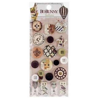 [IN STOCK] BoBunny: Beautiful Dreamer Buttons