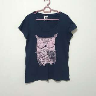 Cotton On Owl Printed Top