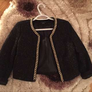Small Sequence Blazer (Like New!!)